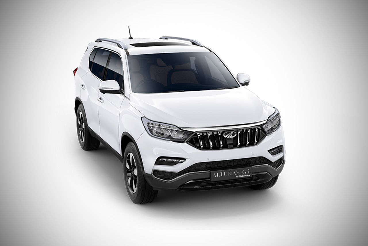 Mahindra Alturas G4 Is The Official Name Of The Y400 Suv Luxury