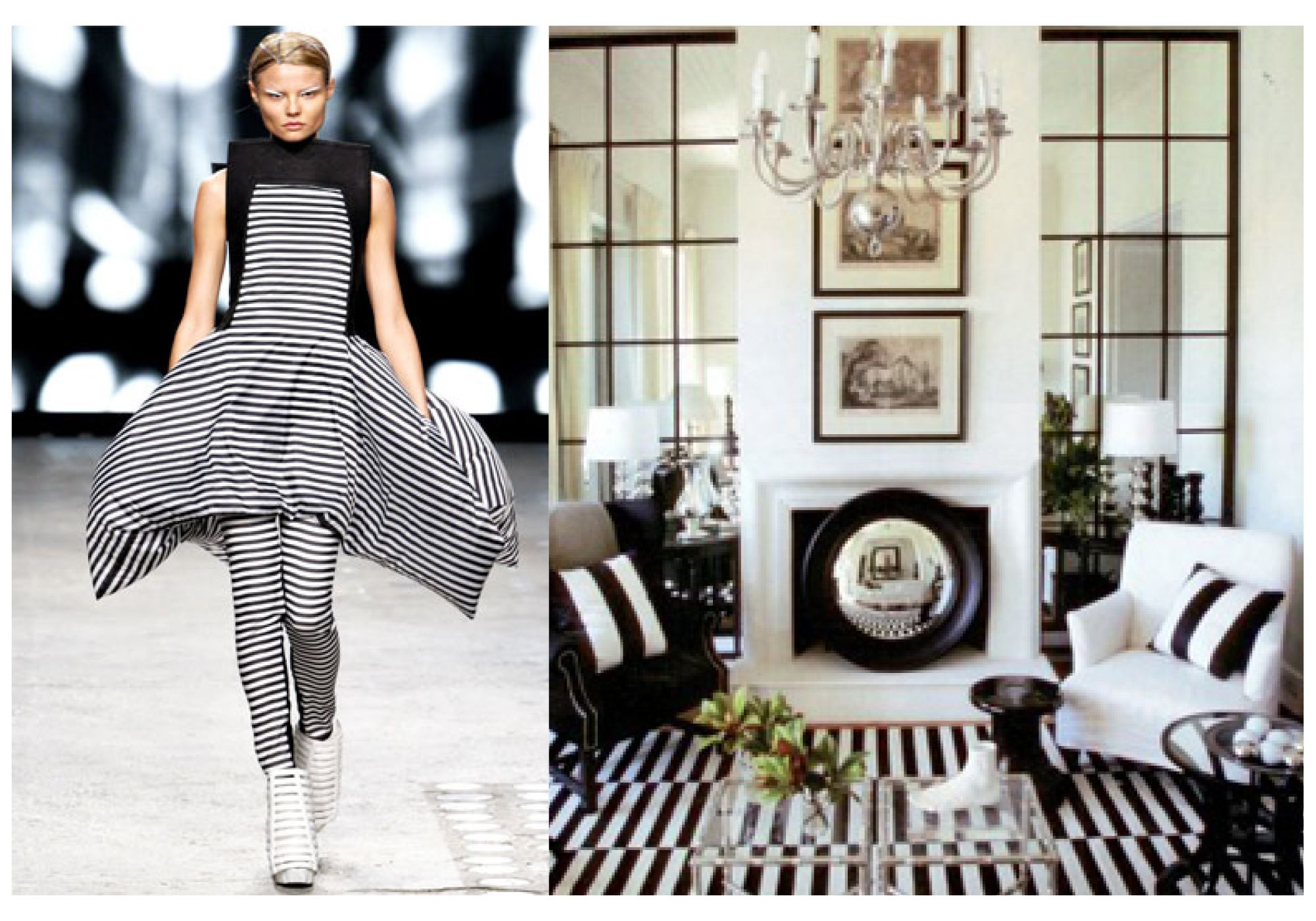 marvelous interior design inspired fashion i heart fashion rh pinterest com