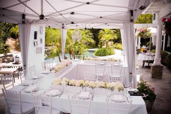 lindsays all white bridal shower inspired by all white martha stewart magazine lindsay bought when she