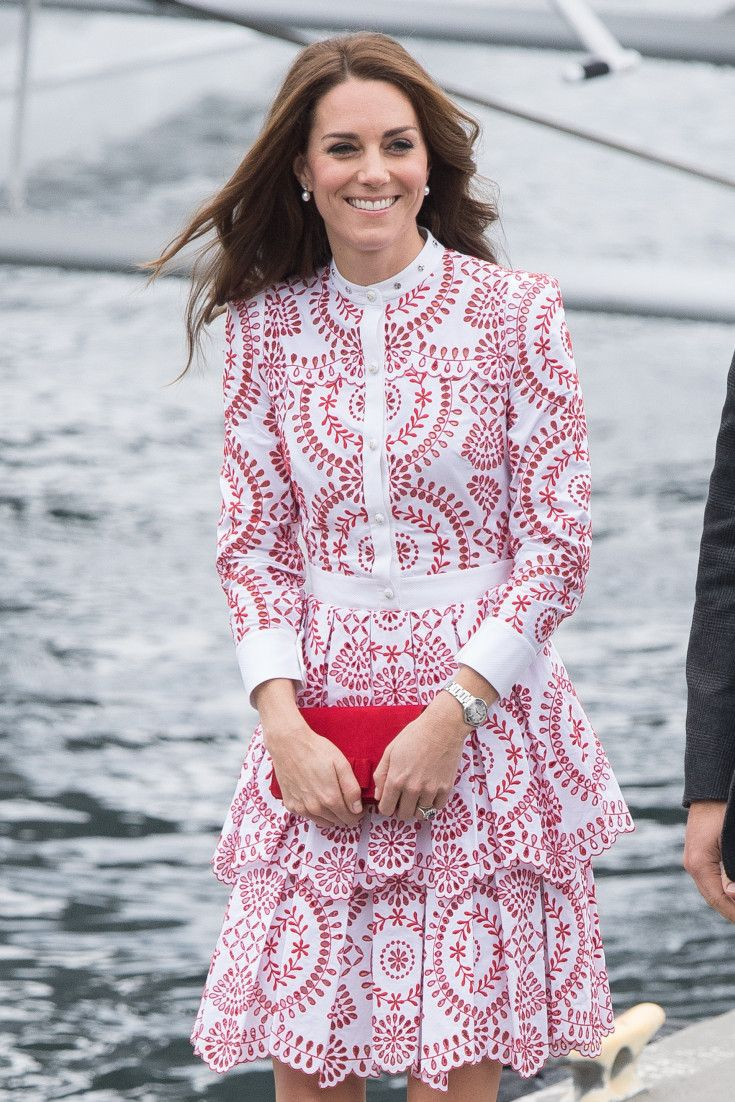 Kate Middleton Opts For Alexander McQueen For Royal Visit To ...