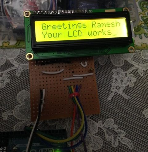 16x2 LCD Shield for Arduino Uno Using 3 Wires | technology ... Wiring Lcd X on arduino lcd wiring, 2x16 lcd wiring, 16x2 lcd-display pinout,