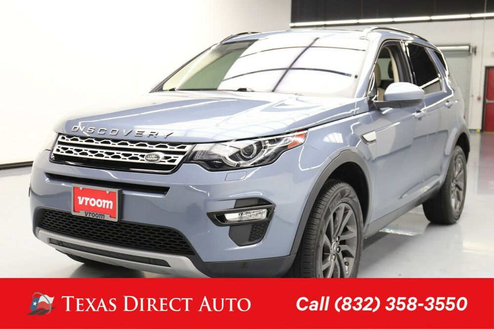 For Sale 2018 Land Rover Discovery Sport HSE Texas Direct