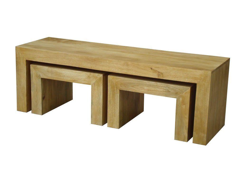 Dakota Long John Coffee Table With 2 Cubes Oak Shade Homescapes Coffee Table Home Decor Decor [ 768 x 1024 Pixel ]