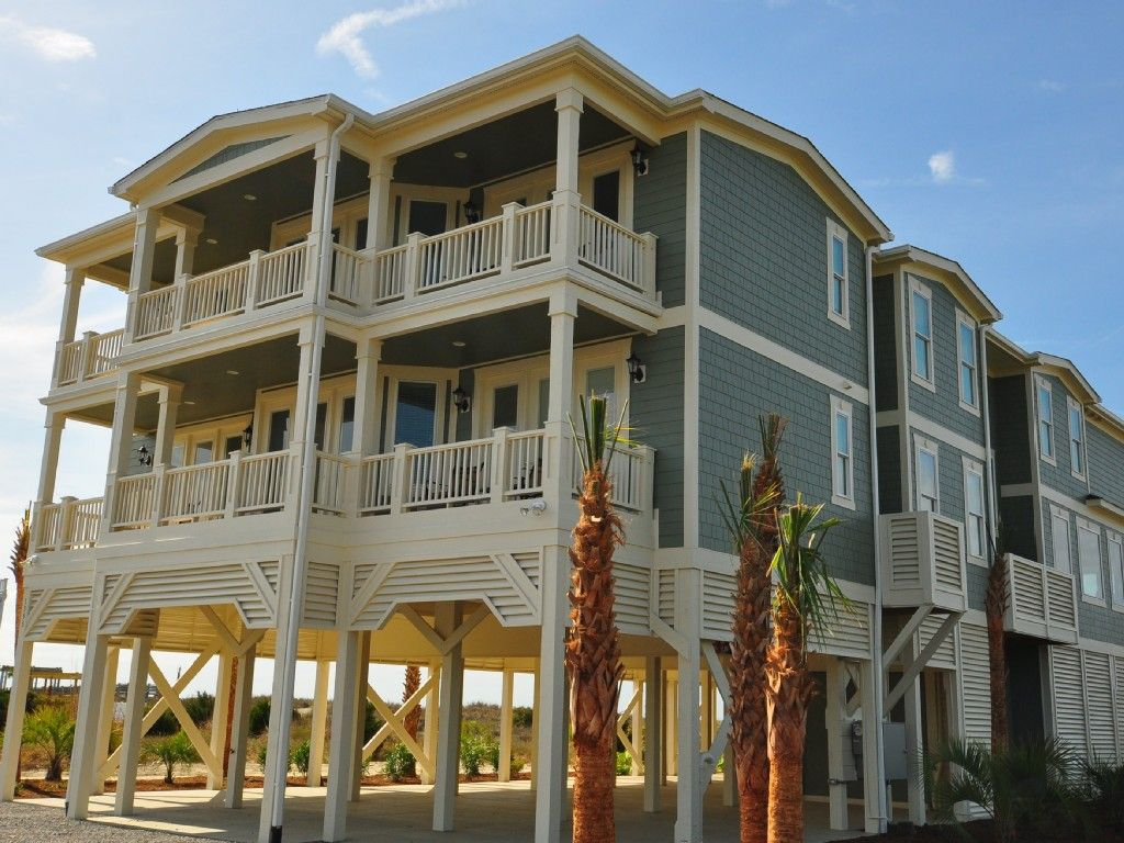 Oceanfront Mansion 8 000 Sf Pool Elevator Tiki Bar Southern Charm Holden Beach Beach House Rental North Carolina Beach House Holden Beach
