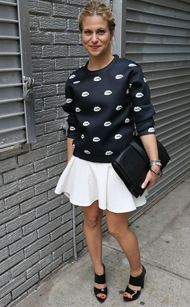 Abby Kalicka from New York Fashion Week Spring 2015 Street Style | E! Online