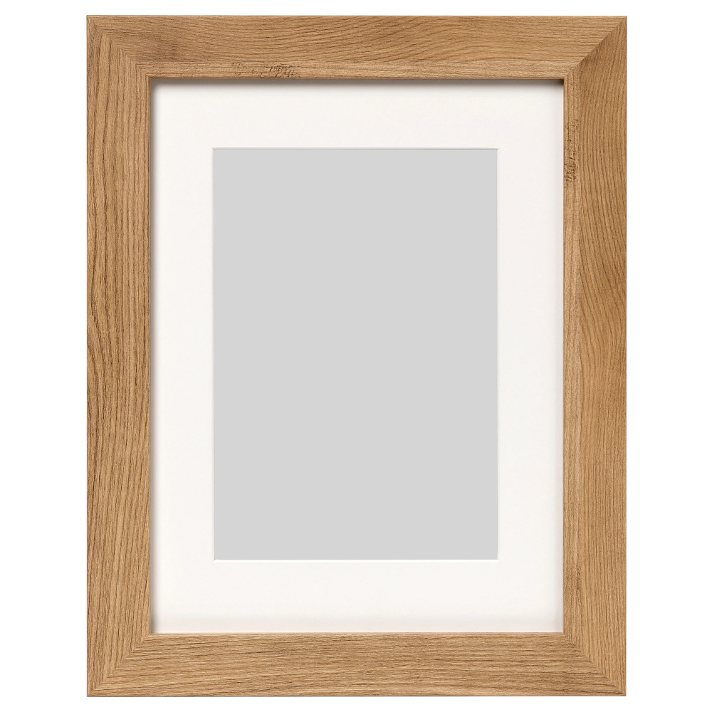 Dalskarr Frame Wood Effect Light Brown 12x16 Ikea Gallery Wall Frames Frames On Wall Wood Picture Frames
