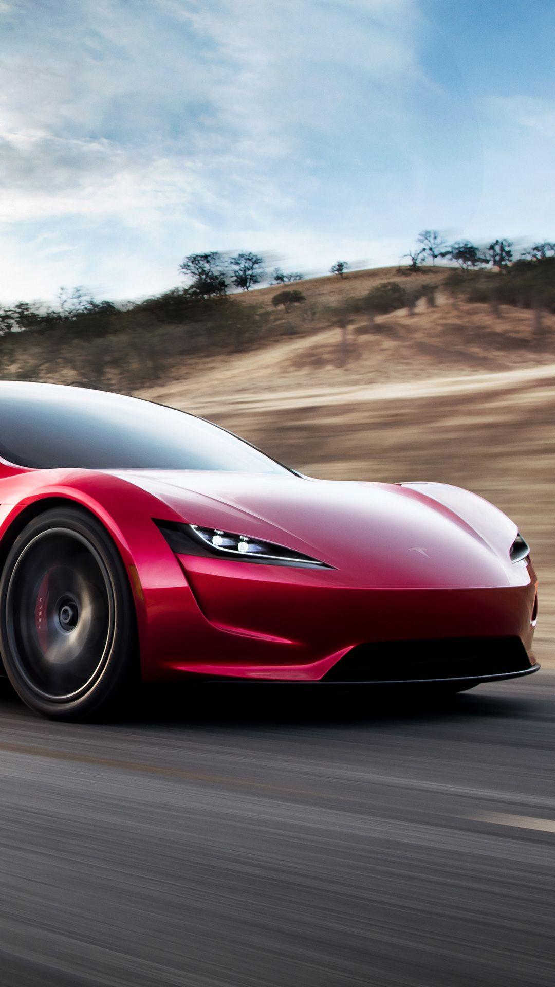 Tesla Roadster Tesla Roadster Hd Wallpaper Wallpaper