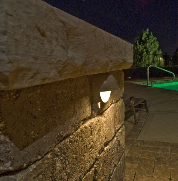 Pillar Lights Outdoor: 1000 Images About Deck Amp Wall Lighting On Pinterest Stone 1000 Images  About Deck Amp Wall,Lighting