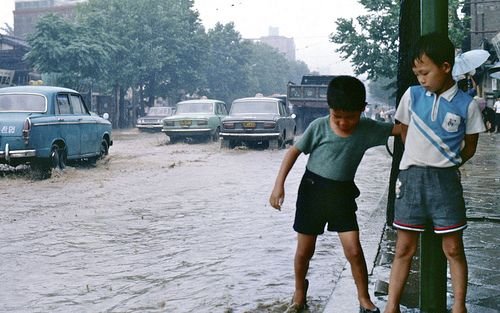 Seoul Monsoon Season 서울 1968-07-20 #68D07-0223# | Flickr - Photo Sharing!