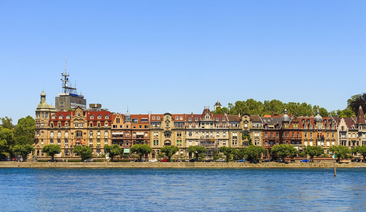 Germany, Constance, Lake Constance, Old Town #germany, #