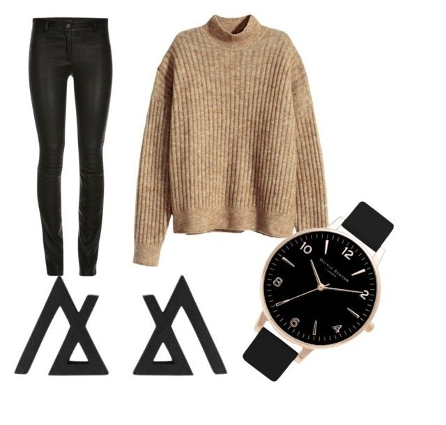 """""""Untitled #411"""" by heden-fun ❤ liked on Polyvore featuring H&M and Olivia Burton"""