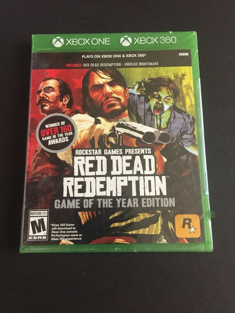 Red Dead Redemption Game of the Year Ed. (Xbox One) SEALED
