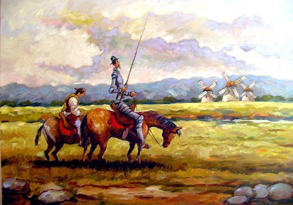 Dom Quixote de la Mancha por Fernando Ikoma, Japan.
