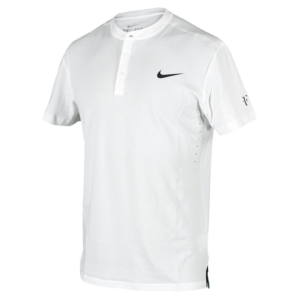 NIKE Men`s Premier Roger Federer Tennis Henly White