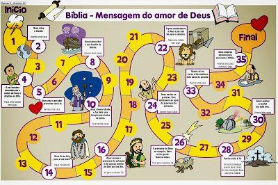 Jogo Da Trilha Biblia Brincadeiras Biblicas Licoes Biblicas Para Criancas Biblia Infantil