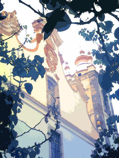 'Portugiesische Schönheit' von Dirk h. Wendt bei artflakes.com als Poster oder Kunstdruck $18.03