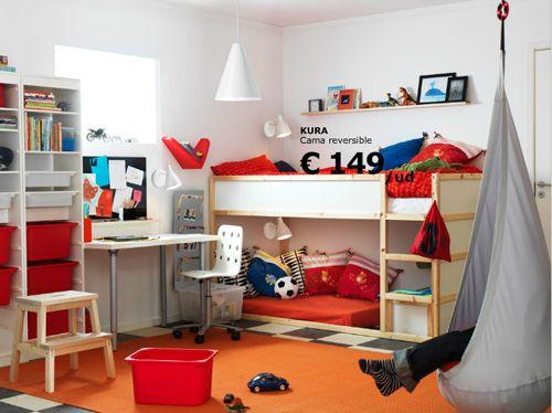 dormitorios juveniles con muebles de ikea - Buscar con Google ...