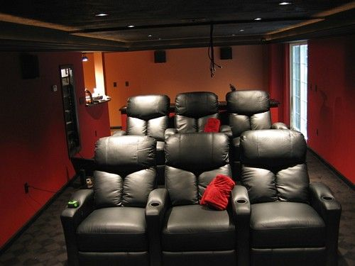 Basement Theater Small Home Theaters Home Cinema Room Home Theater Rooms