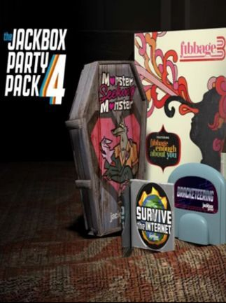 The Jackbox Party Pack 4 - PS4 or Steam | Party packs ...