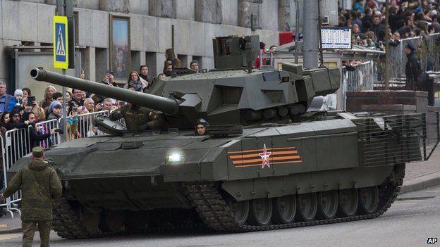 803ec8778150 Russian T-14 Armata tank