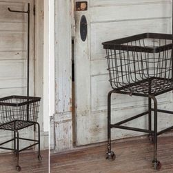 Http Www Houzz Com Photos Industrial Hampers Laundry Room