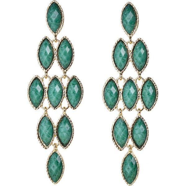 Amrita singh gold tone turquoise tone chandelier earrings 17 amrita singh gold tone turquoise tone chandelier earrings 17 liked aloadofball Image collections