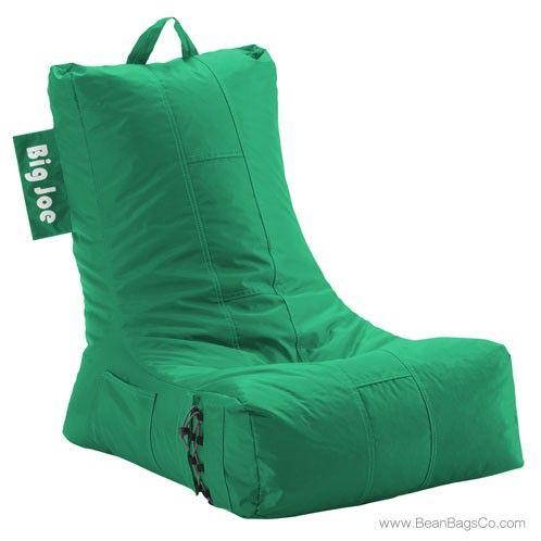 Big Joe Video Bean Bag Chair Emerald Lounger Bean Bag Lounger