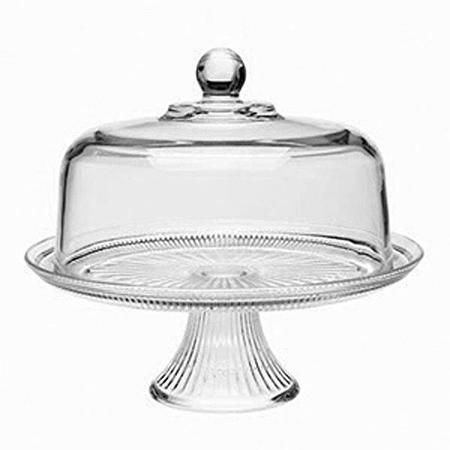 Anchor Hocking Canton Cake Server 2 Piece Walmart Com Mint Green Cake Stand Glass Cake Stand Footed Cake Plate