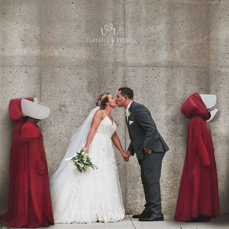 'This is deeply disturbing' 'Handmaid's Tale' wedding