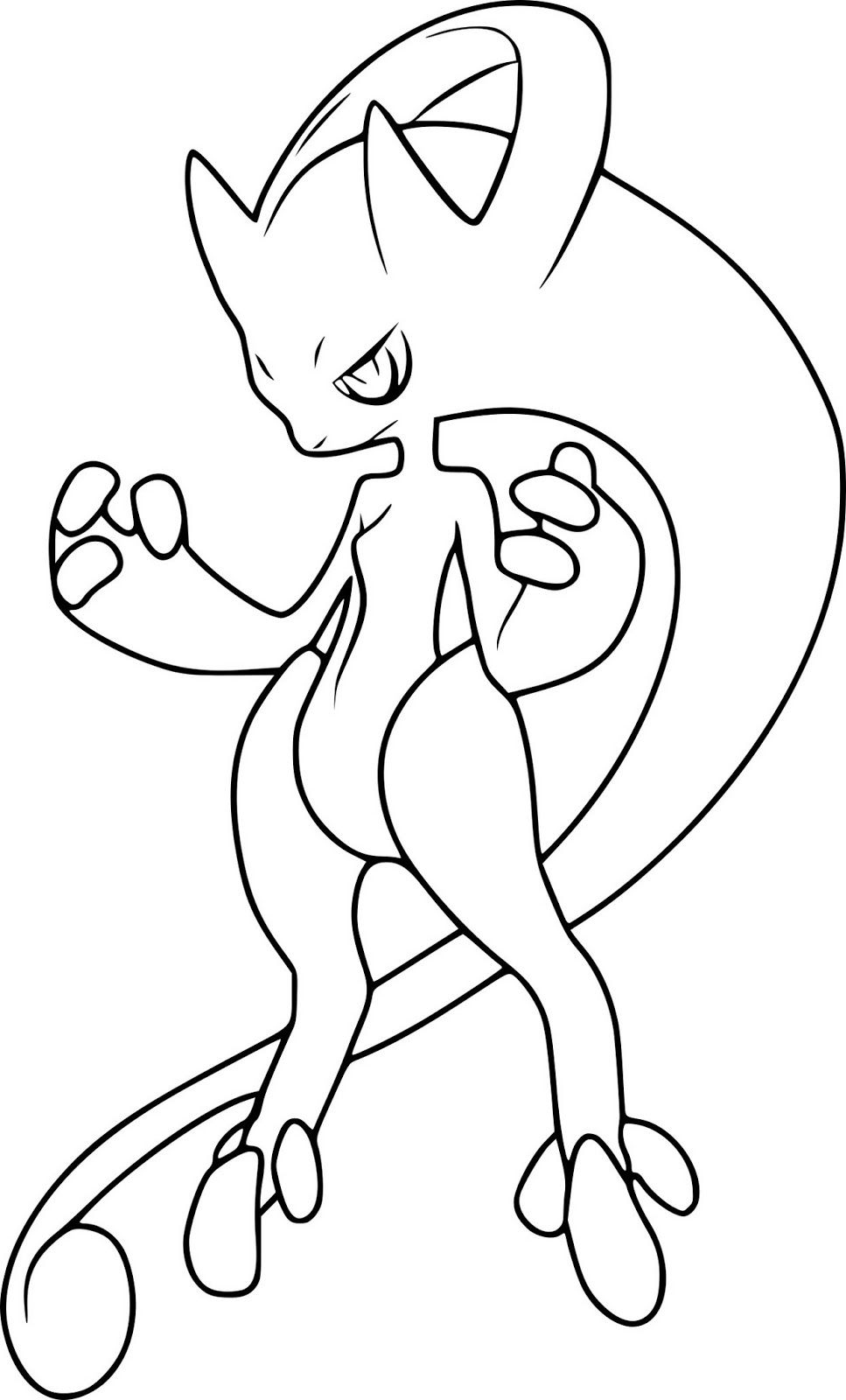 Mega Mewtwo Y Coloring Page In 2020 Pokemon Coloring Pages Pokemon Coloring Pokemon Coloring Sheets