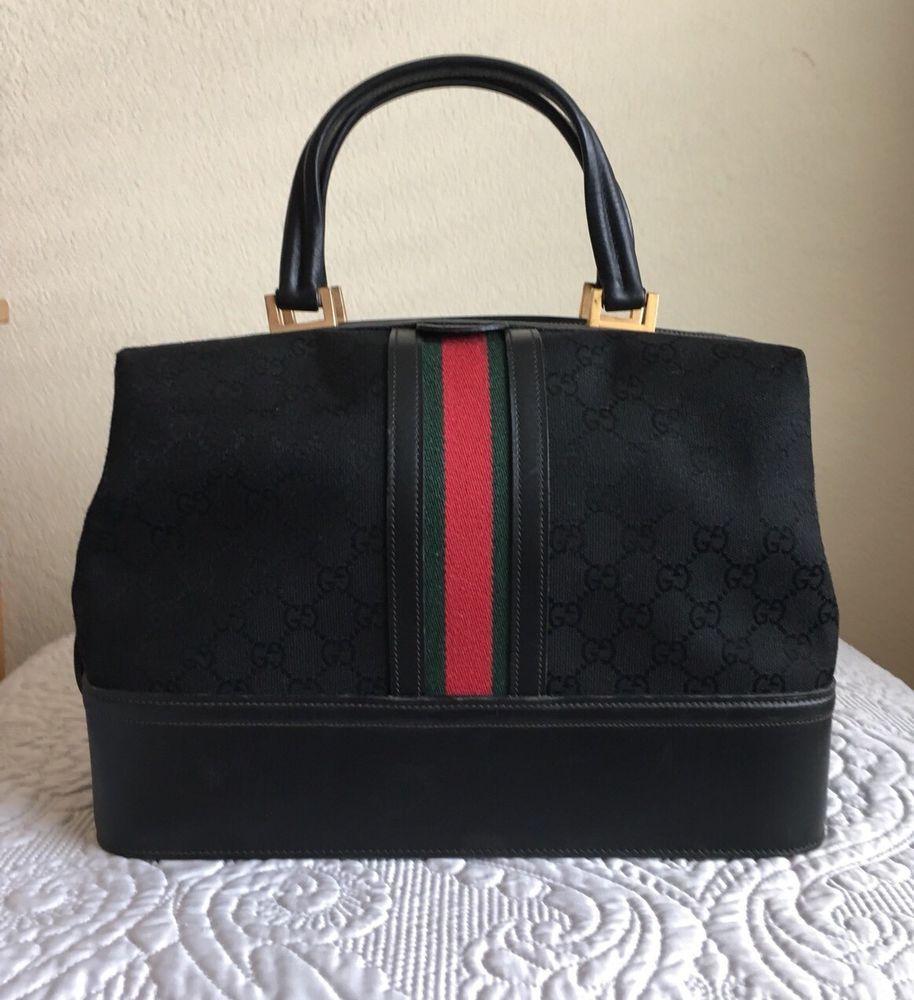 9dedcf0e6118 Details about Gucci Vintage Doctor Bag   Gucci vintage handbags ...
