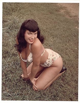 bettie page color # 10