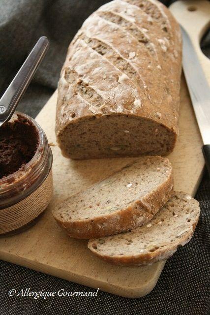 Pingl sur le pain de badia boukhaima - Cuisinez gourmand sans gluten sans lait sans oeufs ...