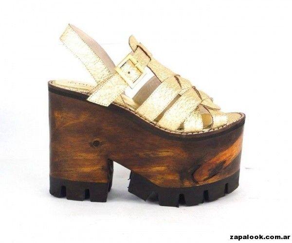 Sandalias con Plataformas Orange shoes primavera verano 2015 ... 118a030525ae
