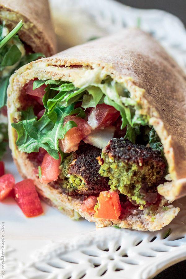How to make falafel wrap