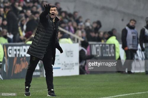 01-22 Nantes' Portuguese head-coach Sergio Conceicao... #conceicao: 01-22 Nantes' Portuguese head-coach Sergio Conceicao… #conceicao