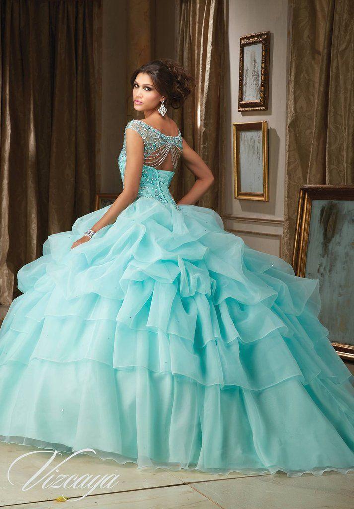 0f49b5c517 Beaded Off Shoulder Quinceanera Dress by Mori Lee Vizcaya 89110 ...