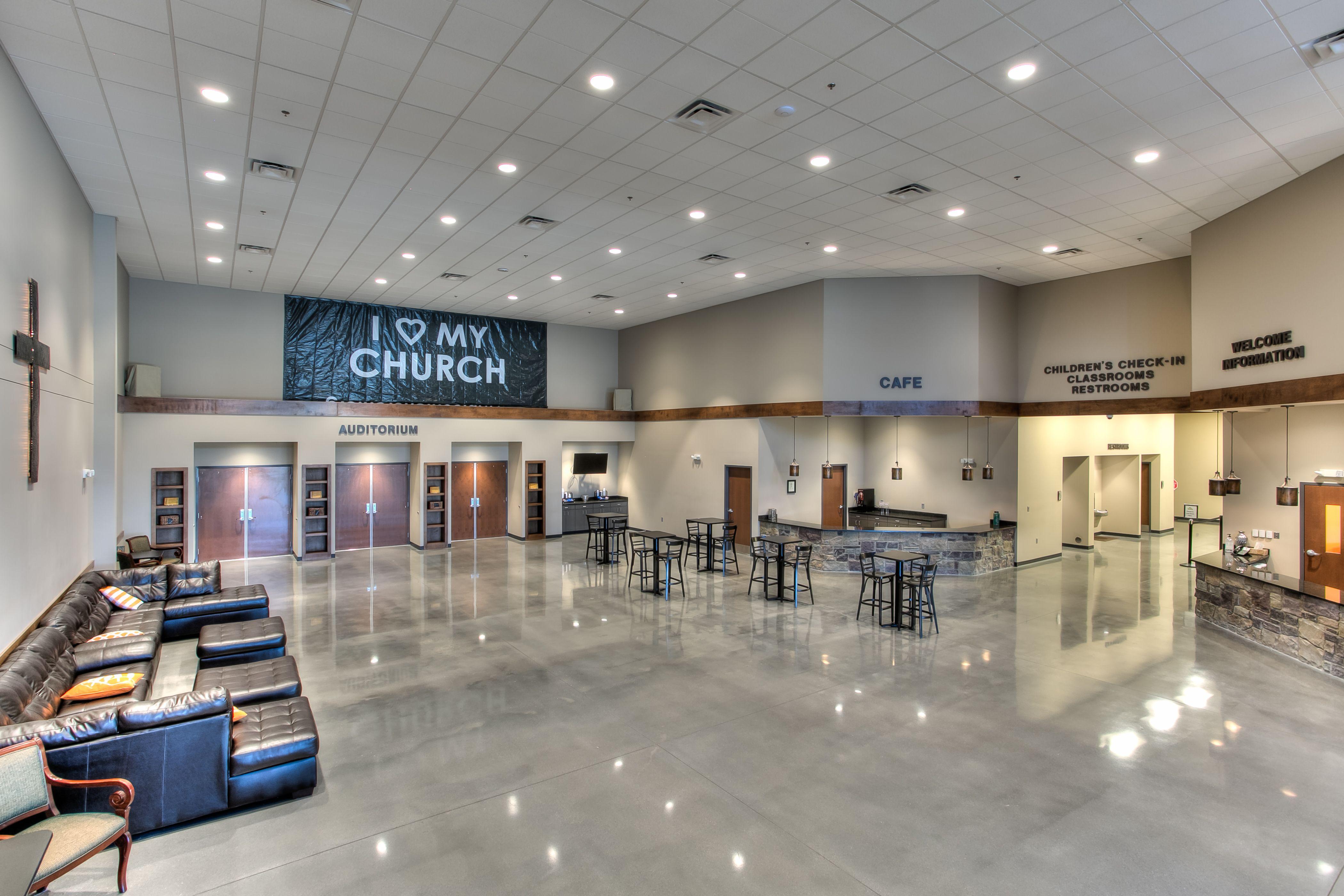 Church Lobby Church Lobby Design Church Building Design Church