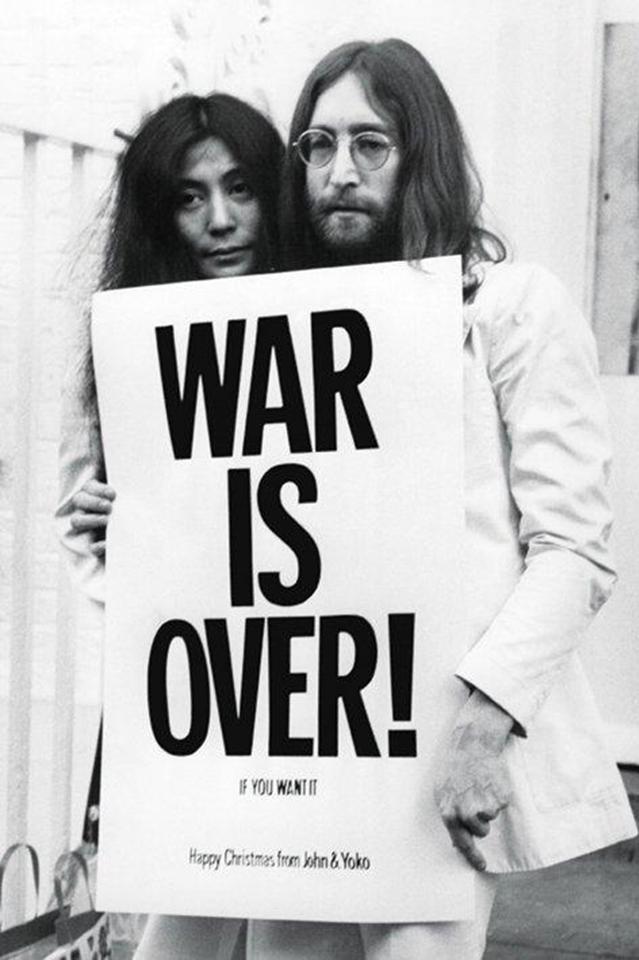 Merry Christmas from John & Yoko   Peace   Pinterest