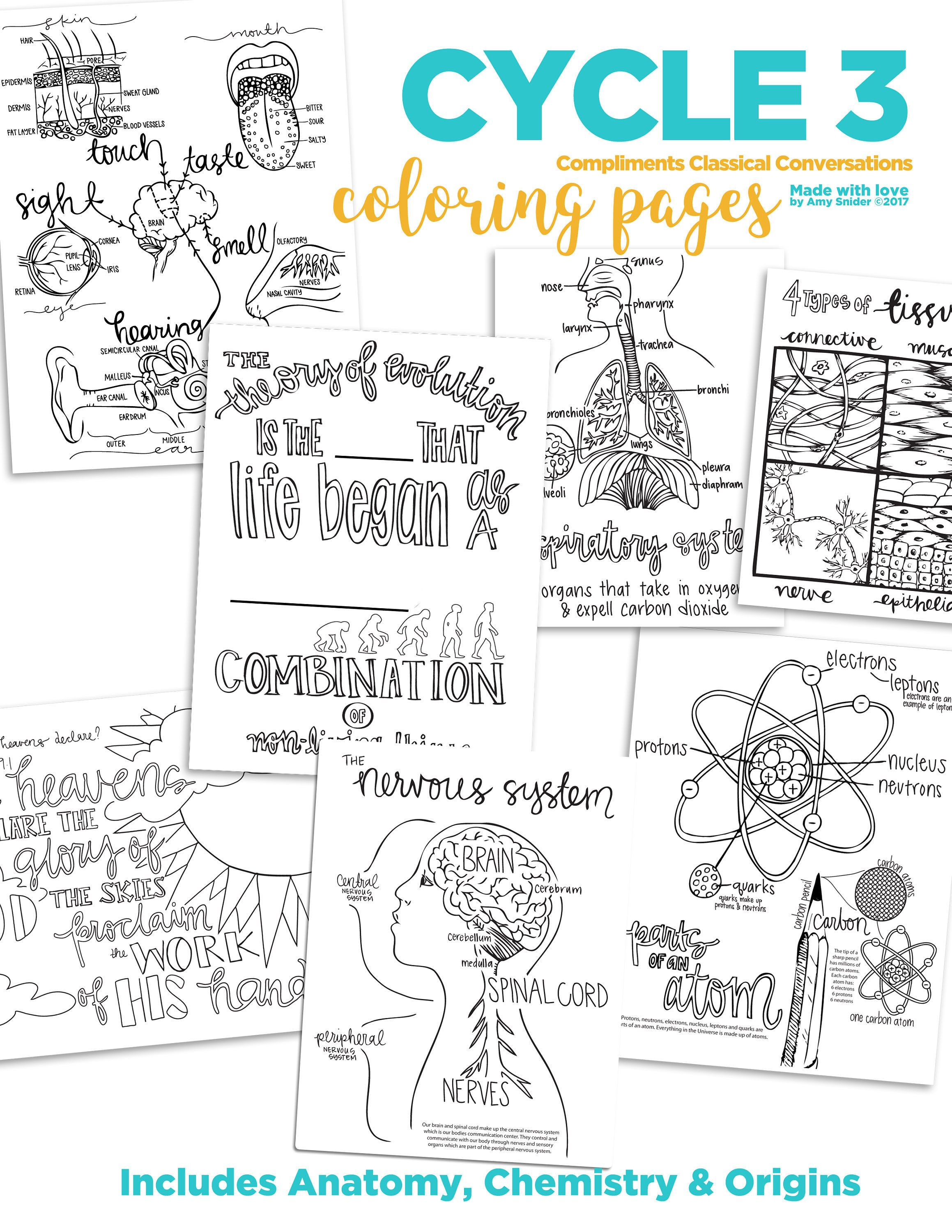 These Coloring Pages Are Excellent Resources To Supplement