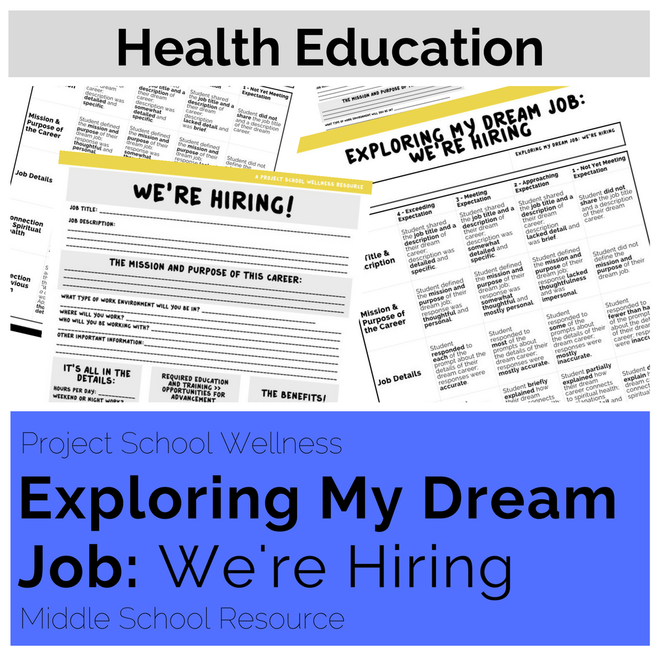 The BEST career day lesson plans for any middle school ...