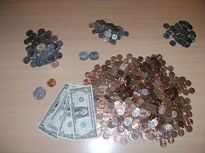 Sammlung Lot Konvolut Münzen Und Scheine Aus Usa 4257 Us Dollar