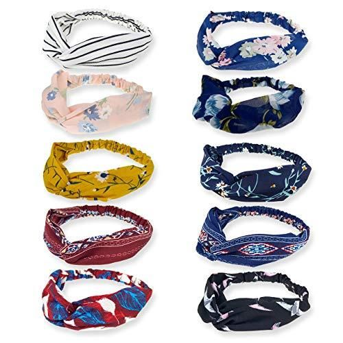 Wide Soft Hair Bands