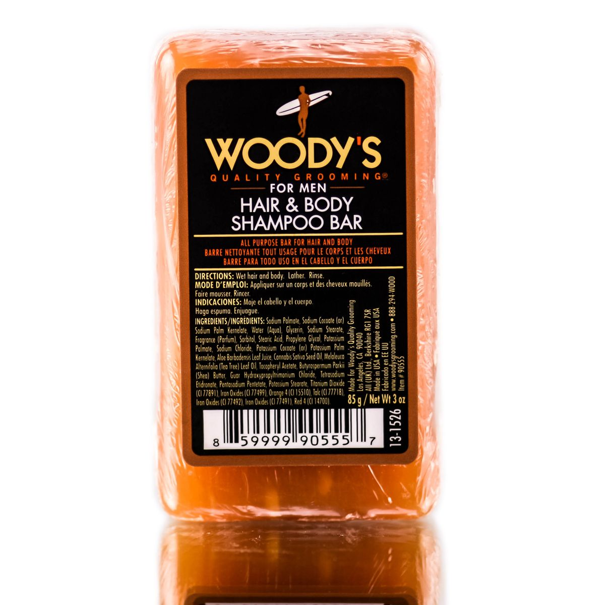 Woody's Meat & Potatoes Hair & Body Shampoo Bar 3.0 oz