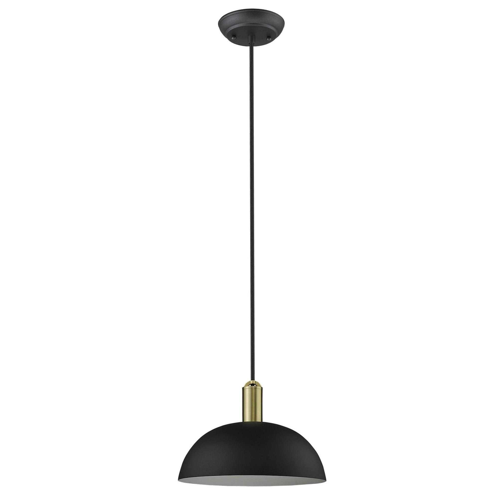 Ingo 1 Light Matte Black Pendant Pendant Lighting Modern