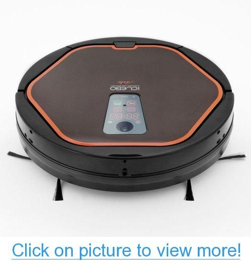 iClebo YCR-M05-10 Arte Smart Home/Office Vacuum Cleaner and Floor Mopping Robot