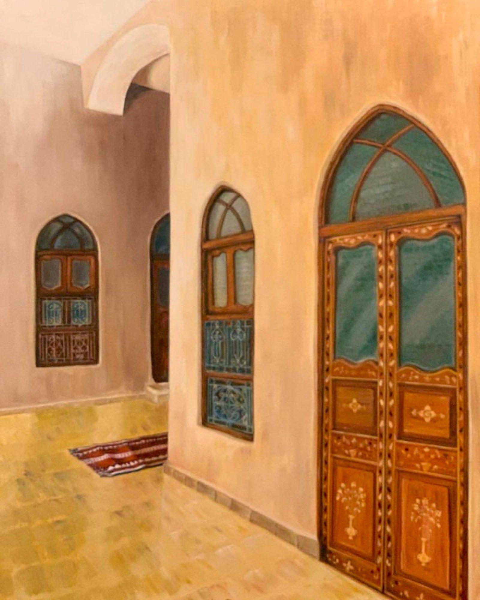 بيت السدو Painting Art Decor