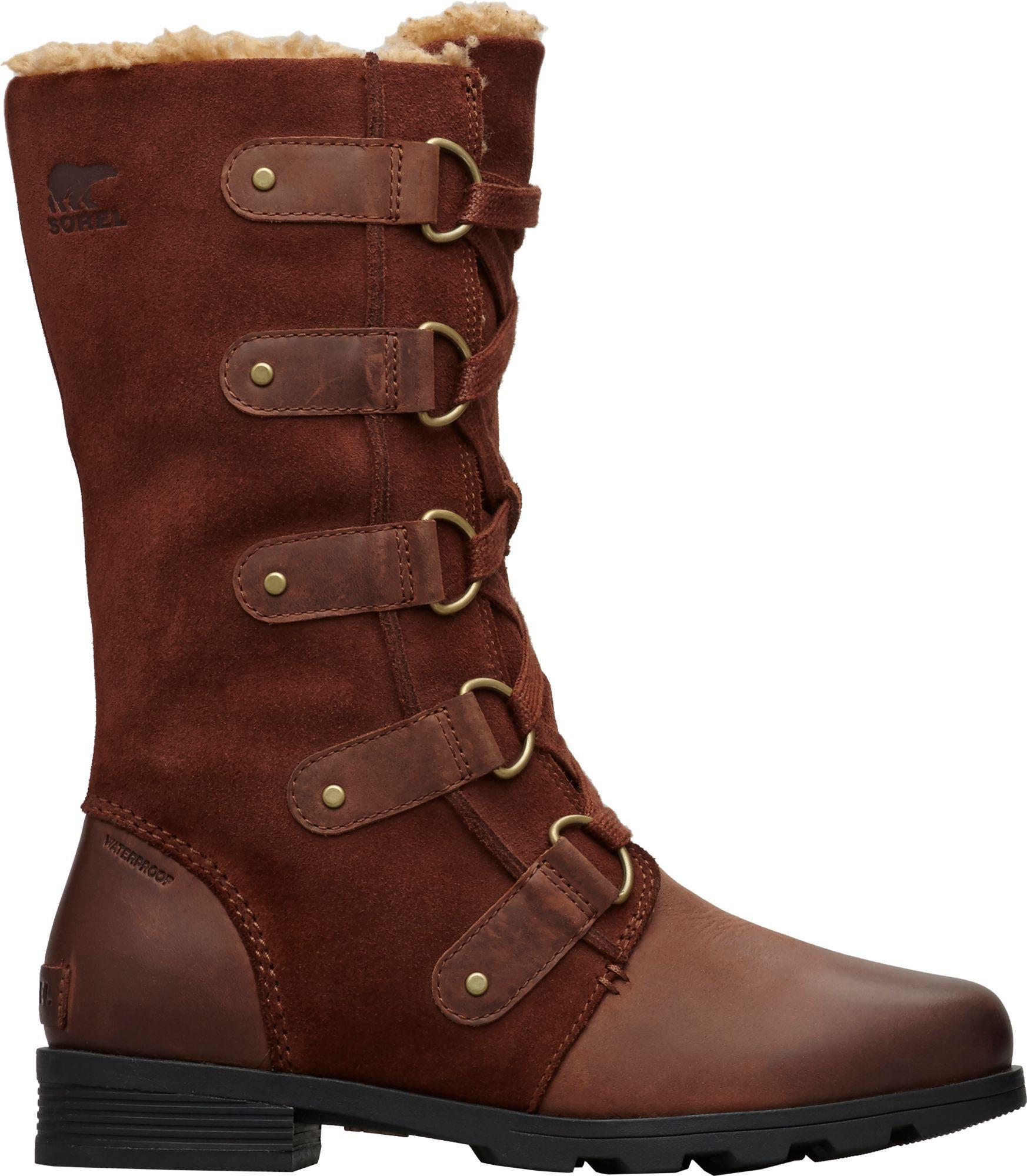 08d84698c84962 Sorel Women's Emelie Lace Waterproof 100g Winter Boots, Size: 8.5 ...