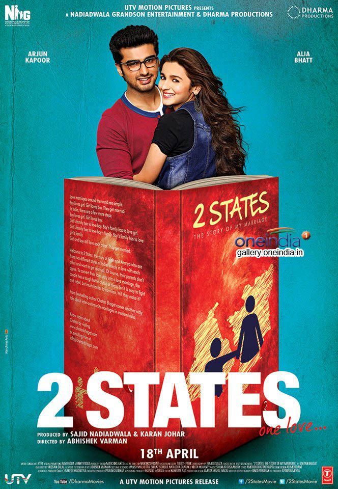 Tipsteacher Online Blog 2 States Movie Romantic Comedy Film Hindi Movies