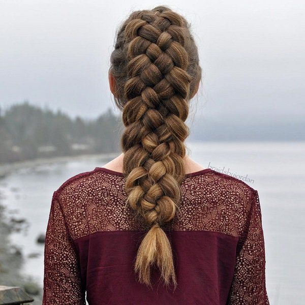 Multi-strand braids are often like the haute couture collections of dresses. Intricate and very fashionable. Sometimes it looks impossible to wear but once you have it, you would look ten times more stylish.